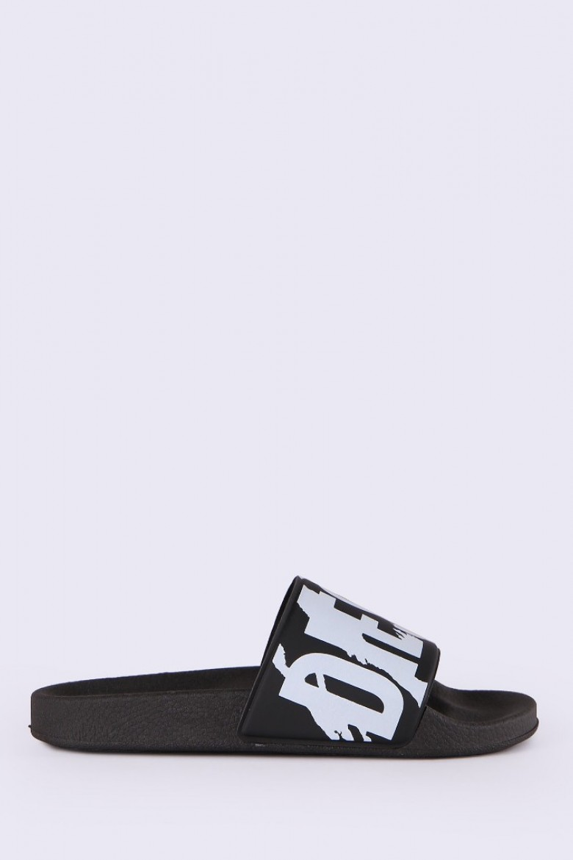 Plážová obuv - DIESEL S.P.A.,BREGANZE ALOHAA SAMARAL W  flipflop čierna