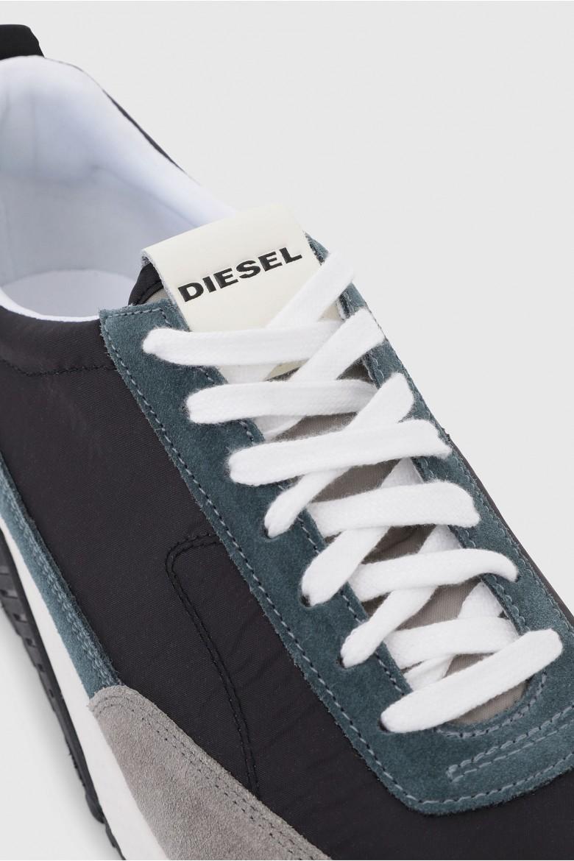 Tenisky - DIESEL S.P.A.,BREGANZE SKB SKB LOW LACE  sneakers sivo-modré