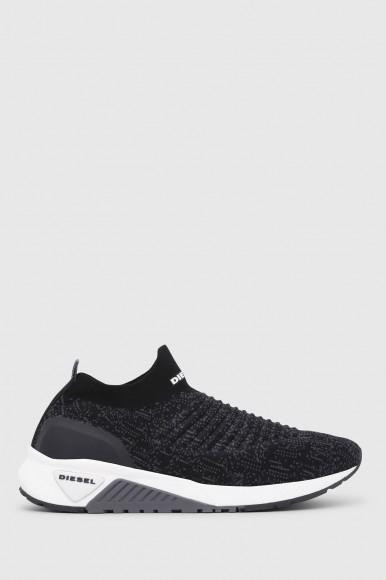 Tenisky - DIESEL S.P.A.,BREGANZE SKB SKB ATHL SOCK  sneakers čierne