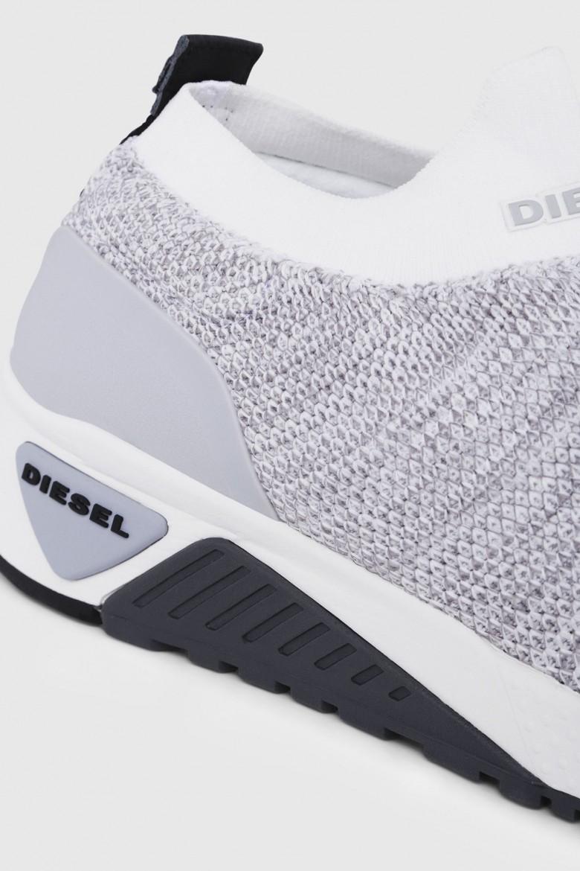 Tenisky - DIESEL S.P.A.,BREGANZE SKB SKB ATHL SOCK  sneakers - šedá