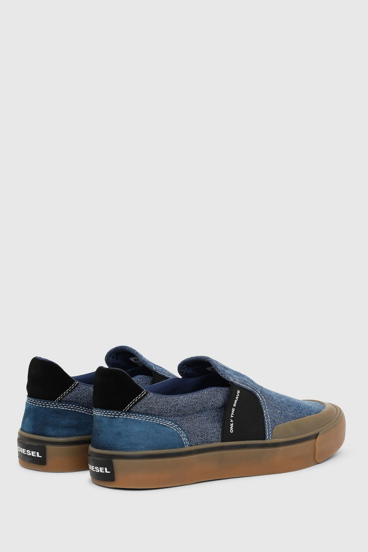 Slip-on - DIESEL S.P.A.,BREGANZE 355 FLIP SFLIP SO  sneakers modré