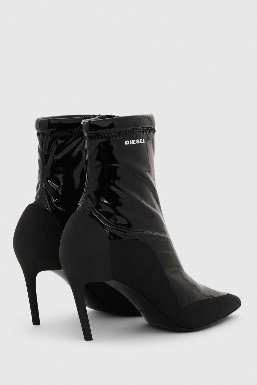 Členkové topánky - SLANTY DSLANTY ABM  ankle boot čierne