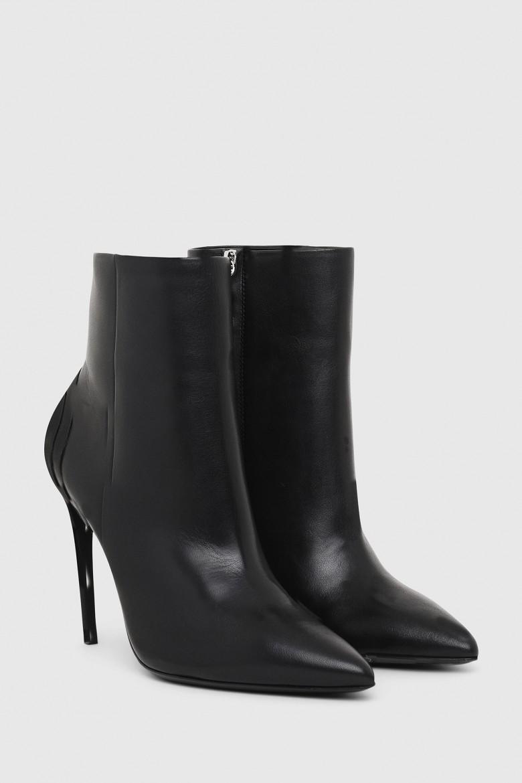 Členkové topánky - SLANTY DSLANTY HABZ čierne